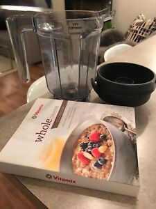 VITAMIX Dry Blade Container for Grains/Baking + COOKBOOK