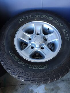 Land Rover defender boost alloys and tyres set of 5 Clontarf Redcliffe Area Preview