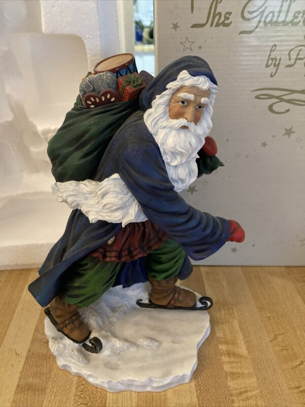 "Pipka Starlight Santa Christmas Collectible Figurine 11"" #2415 Limited Edition"