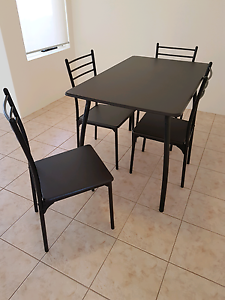 4 seater dining room table and chairs Bentley Canning Area Preview