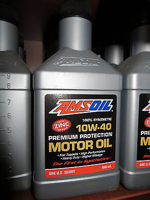 Amsoil 10w40 100 synthetic motor oil new for sale in for Amsoil 100 synthetic motor oil