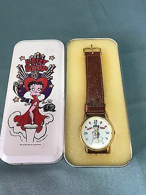 Betty Boop Cowgirl Watch New Battery