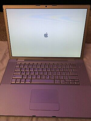 Apple MacBook Pro Mid 2007 A1226 15-inch Core 2 Duo 2.4GHz 4GB RAM 320GB HDD