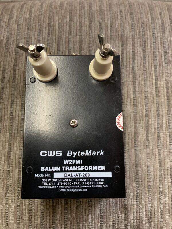 4:1 Balun W2FMI. 200 ohm balanced to 50 ohms unbalanced balun for antenna tuner
