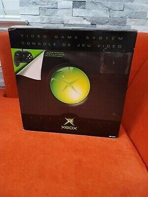 Original Microsoft Xbox Game Console - Black - Complete in Original Box