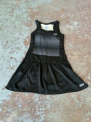 Womens Tennis Apparel - Yonex Very Cool Black Tennis Dress Women's US Size Small 100% Polyester