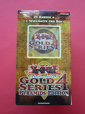 YuGiOh - Gold Series 4 - Pyramids Edition - Deutsch - Neu / OVP