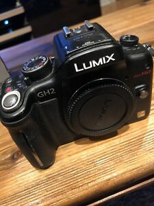 Panasonic DMC-GH2H Lumix Digital Camera & Lens Kit