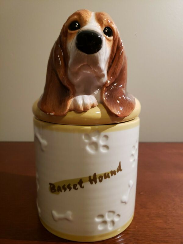 Bassett Hound Treat Jar DNC Collection