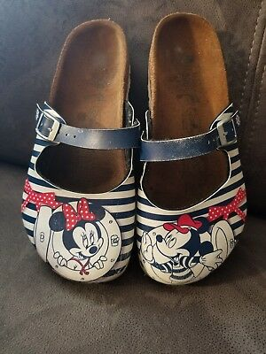 Disney Birki's by Birkenstock Shoes⚓Nautical⚓Mickey & Minnie 32 1 1.5 ADORABLE