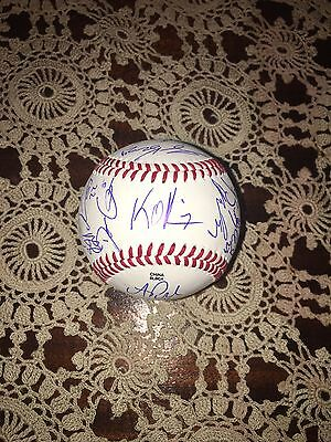 2016 FLORIDA GATORS team signed Baseball LIMITED EDITION College World Series