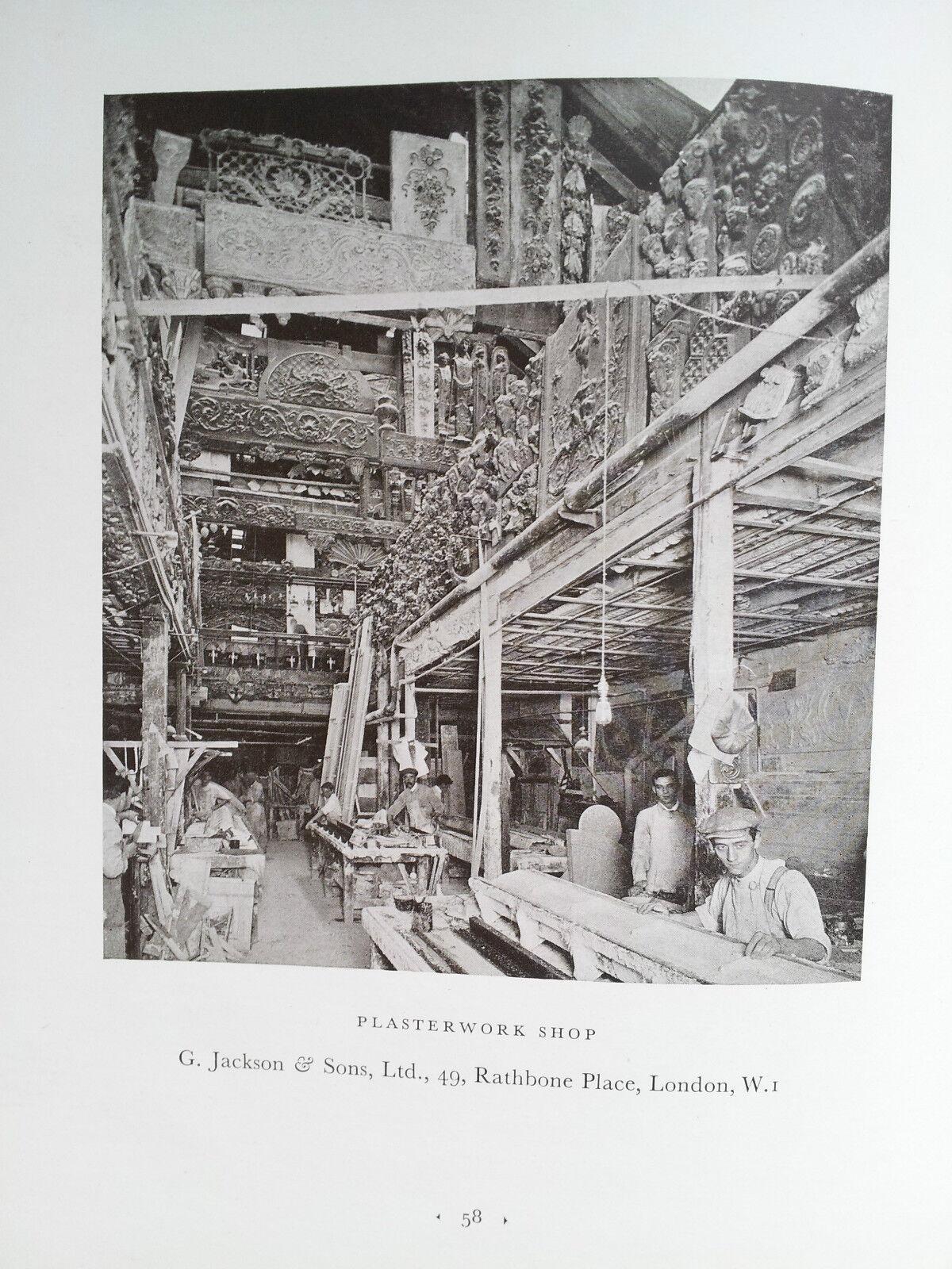 Interior Cad Tradition Amp Modernity In Plasterwork Weaver 1927