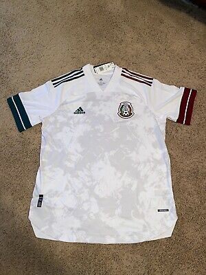 Adidas 2020 Mexico Away Authentic Soccer Jersey - Men's XL ~ $130 GC7941 NWT image