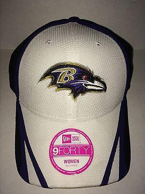 Baltimore Ravens New Era NFL 9Forty Women's Hat Baltimore Ravens Womens Hats