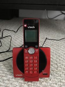 Vtech Cordless Phone (Red) -Like New