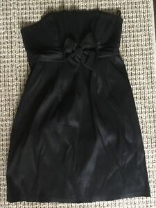 Black bridesmaids dress- size 12