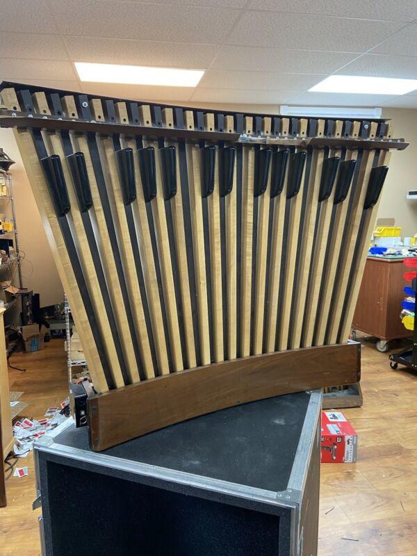 Midi Organ Bass Pedals 32 Note AGO Pedalboard for Virtual Pipe Organ Concave