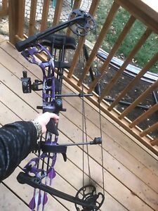 Quest g5 compound bow never used