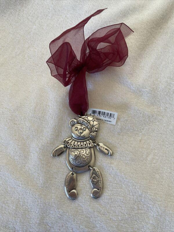 Brighton Happy Holidays 2000 Teddy Bear Ornament Charm
