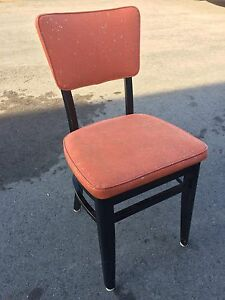 Vintage Orange Chair (set of 2)