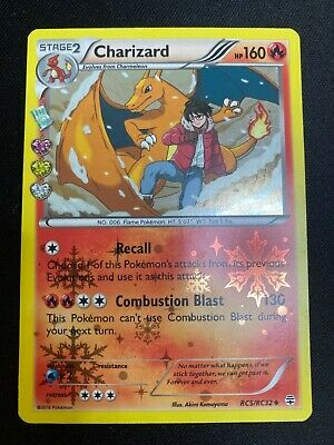Pokemon Charizard RC5/RC32 Holo Rare Generations Radiant Collection NM