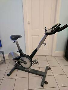 KEISER M3 Spin Bike 24 Lvl Resistance Computer Kevlar Belt Drive North Strathfield Canada Bay Area Preview