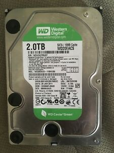 Western Digital Internal Hard Drive 2TB