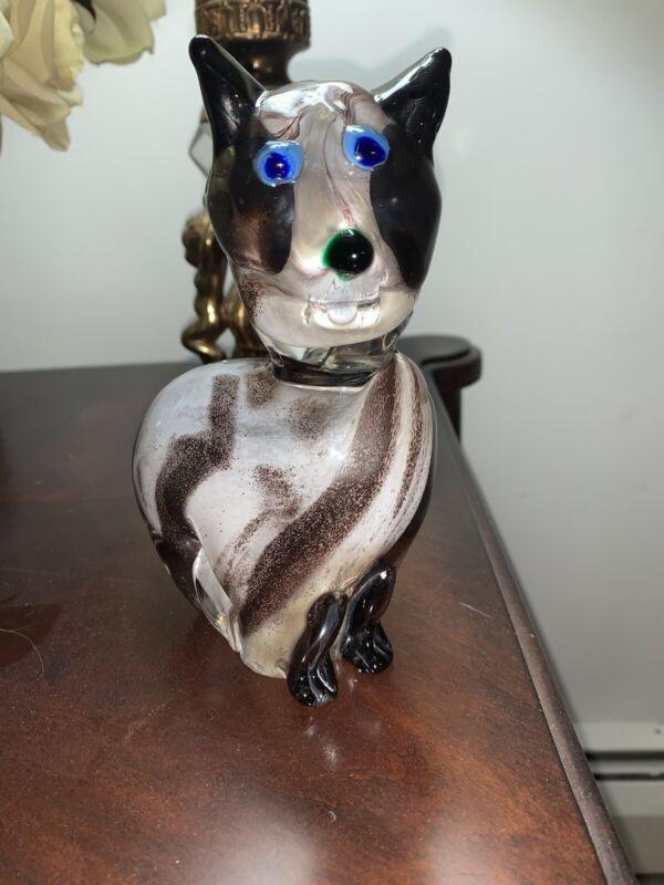 Angelo Rossi Glass Animal Figurine