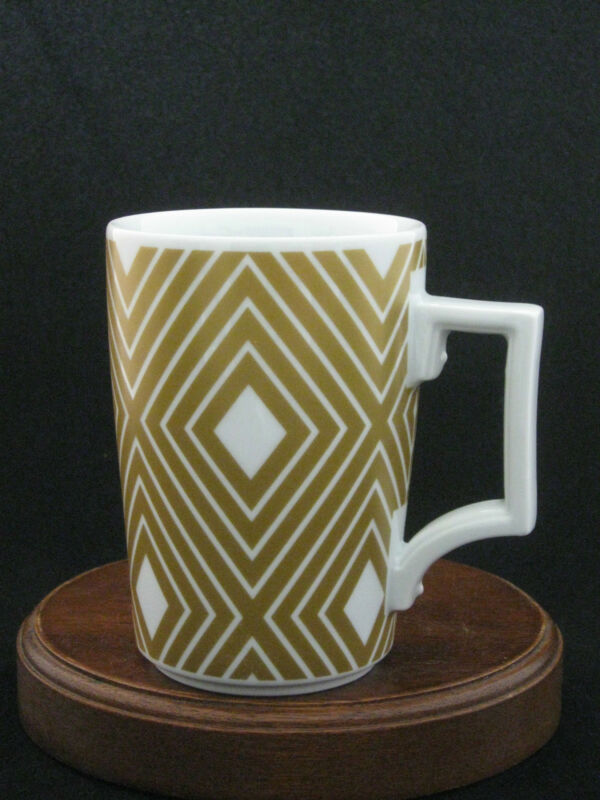 Starbucks Gold Coffee Mug by Rosanna 2013