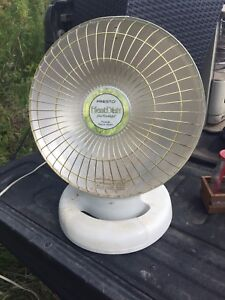 Heat dish electric heater