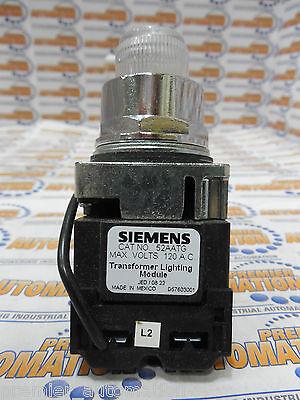 Siemens 52pt6gaa Push To Test Pilot Light Transformer Type 120volts Ac