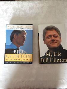 Bill Clinton Hardcovers $20.00