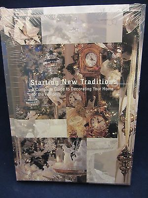 Dept 56 STARTING NEW TRADITIONS VHS  & Decorating Manual #98842  NEW  (7N)