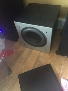 "Polk Audio PSW-505 12"" 300 Watt RMS Powered Sub"
