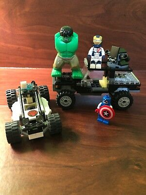 LEGO Marvel SuperHeroes 76030 Avengers Hydra Showdown 99% Complete