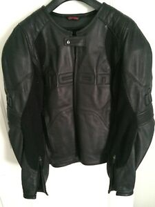 Icon Leather Motorcycle Jacket for sale