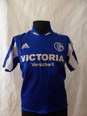 FC Schalke 04 Trikot VICTORIA Versichert Nr.10 Lincoln Gr.XS  2005/06  image