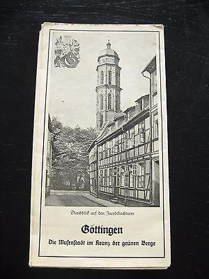 alte Karte von Niedersachsen von Niedersächsischen Tages Zeitung 30er Jahre