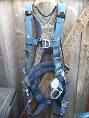Sala Full Body Harness Vest Style Sm Nylon Blue