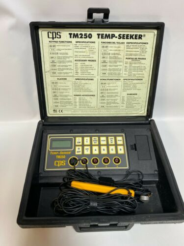 CPS Temp-Seeker TM250 Multi-Channel Thermometer