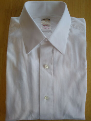 NWT Brooks Brothers Golden Fleece White Formal Shirt 15.5-33 Madison MSRP $225