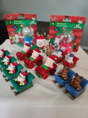 Vintage Santa Clause toys Lot.. Great stocking stuffers
