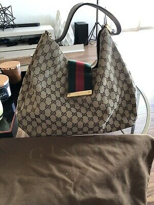 GUCCI Monogram Hobo Bag