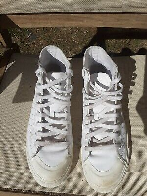 Adidas Men's Nizza RF High Tops Leather Trainers UK 9.5/FR 44/US 10 RRP £70