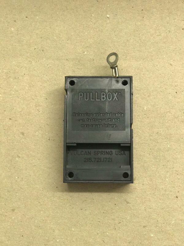 Security Anti Theft Retractable Pull Box Cable - Point of Sale Security, Vulcan,