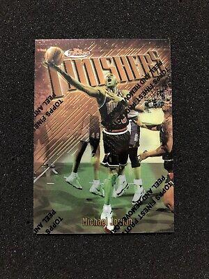 MICHAEL JORDAN 1997-1998 Topps Finest Finishers #39 / F1 CHICAGO BULLS CARD C