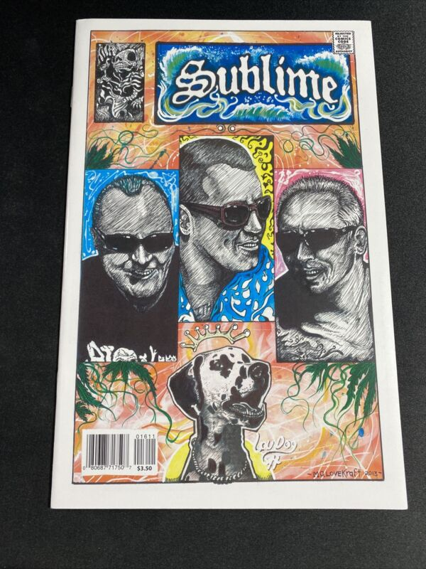 Sublime Rock And Roll Biographies Comic 2020 Bad Fish 2020 (UNREAD)