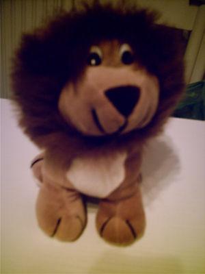 Stofftier Löwe groß neu braun Kuscheltier ()