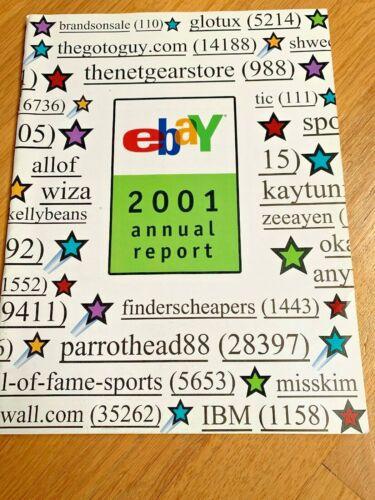 2001 EBAY ANNUAL REPORT