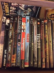 Large selection of DVDs - YOUR CHOICE $5 each